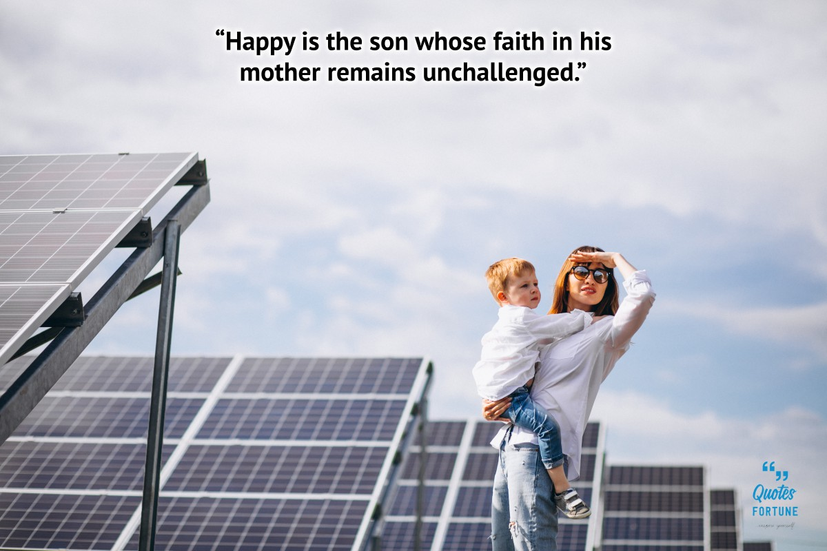 Mother and Son Sayings
