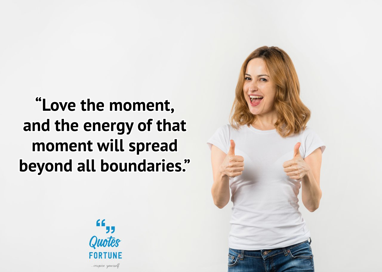 Being Energetic Quotes