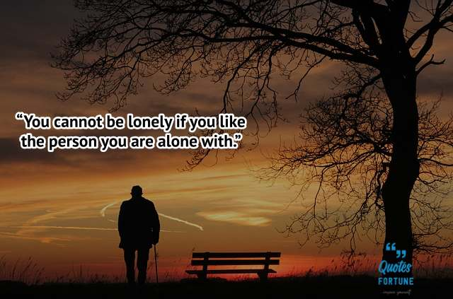 Being Lonely Quotes