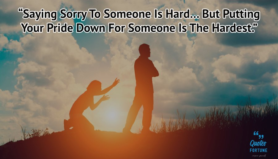 Feeling Sorry Quotes