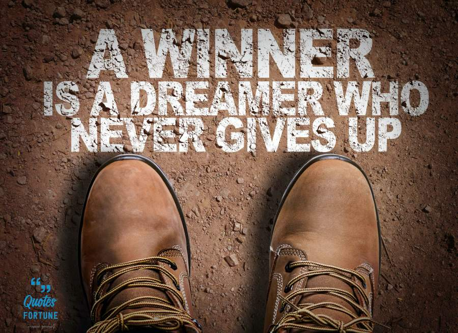 Never Give Up Sayings