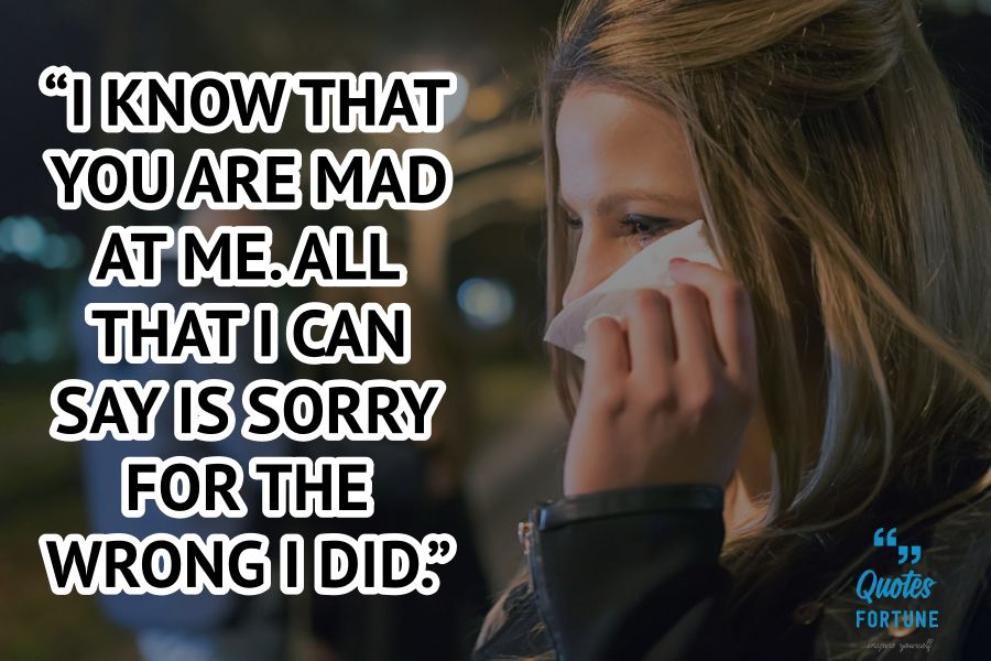 I Am Sorry Quotes and Messages for Boyfriend - Quotes Fortune