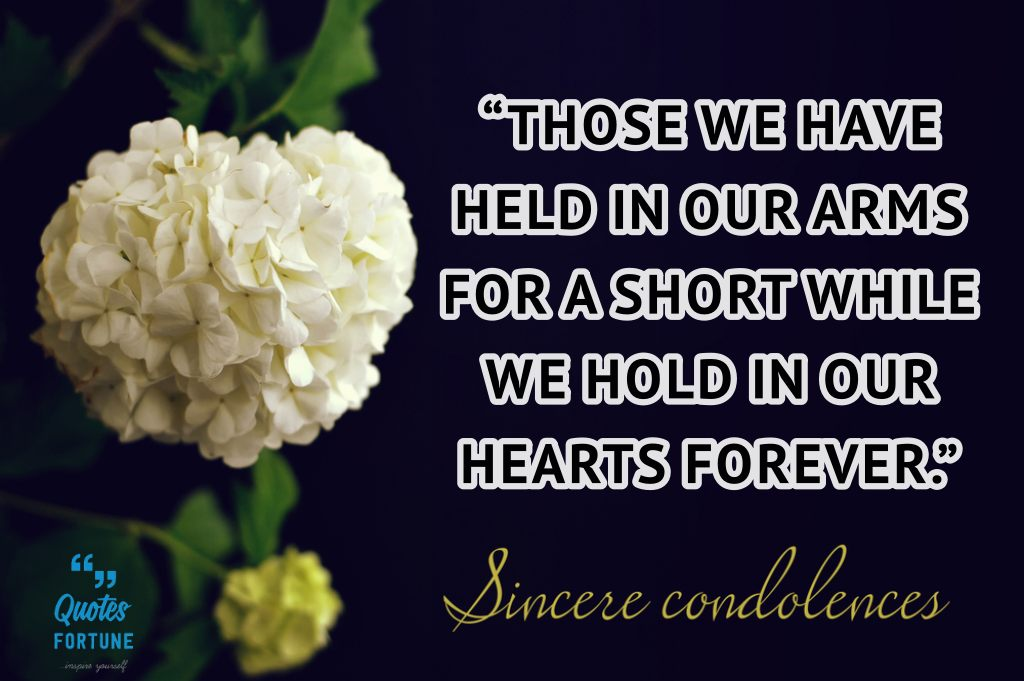 Condolence Sayings