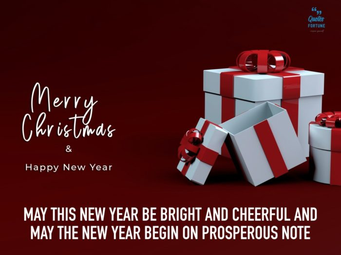 Merry Christmas and Happy New Year Quotes 3